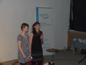 lesley (links) und nina