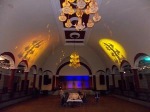 Der große Ballsaal im Felsenkeller