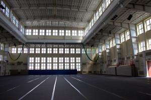 Die große Sporthalle der Universität