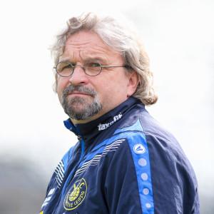 03.04.2016,Leipzig,Fussball,Bruno Plache Stadion,NOFV Oberliga Sued,Punktspiel 1.FC Lok Leipzig-FC Energie Cottbus II 5:0(2:0) Im Foto:Lok Trainer-Heiko Scholz Rechte:Bernd Scharfe
