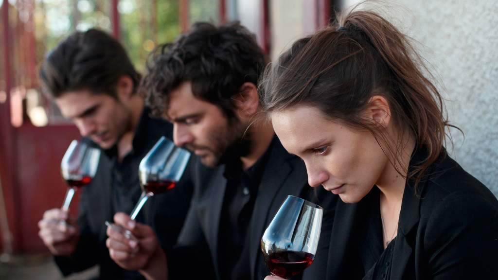 Der Wein und weniger der Wind