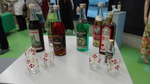historische Party-Spirituosen