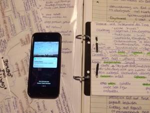Handy weg beim Lernen!