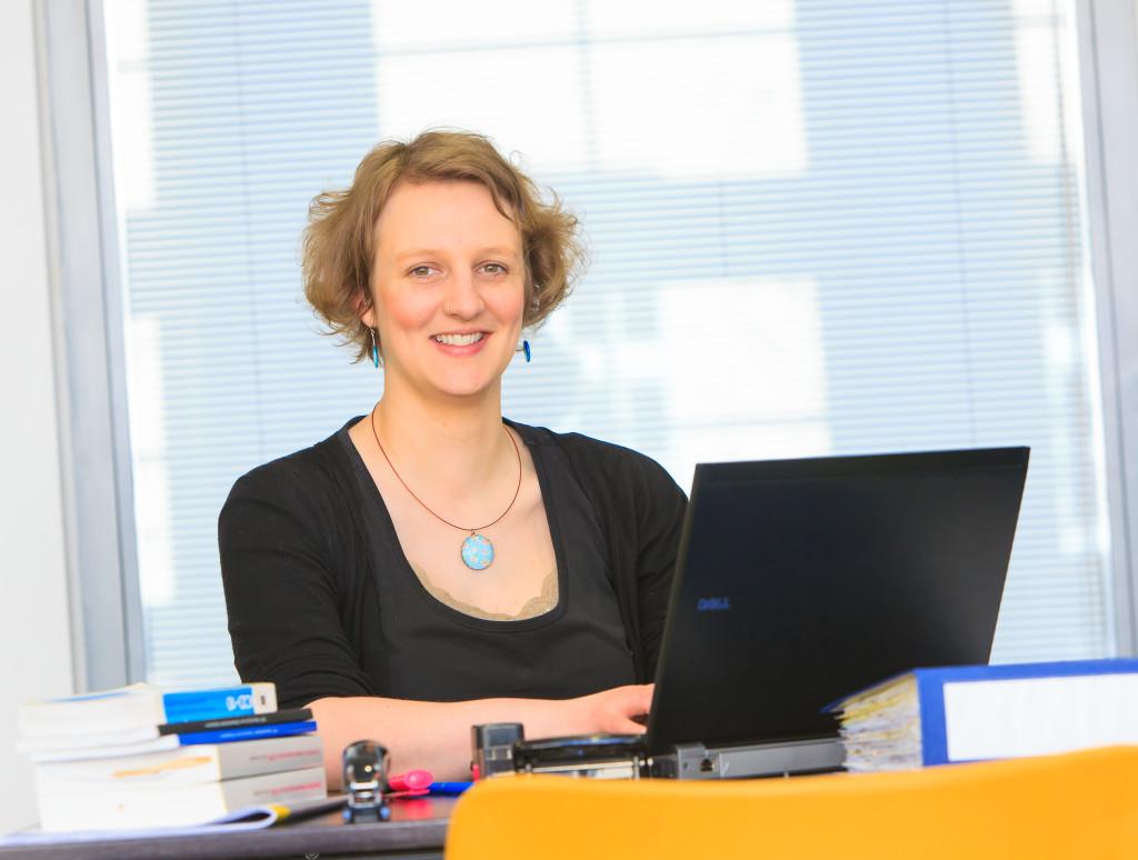 Psychosoziale Beratung bei Ruth Dölemeyer (Foto: Swen Reichhold / Universität Leipzig)
