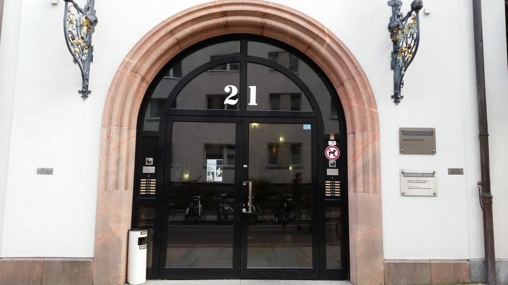 Das Institut für Kommunikations- und Medienwissenschaft in der Burgstraße (Foto: lm)