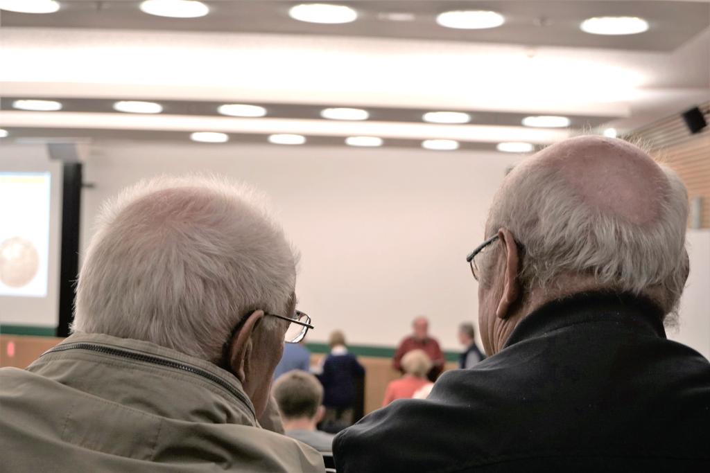 Seniorenstudenten an der Universität Leipzig