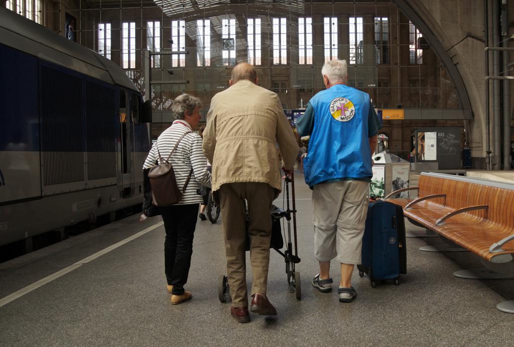 Ehrenamtlich bei der Bahnhofsmission