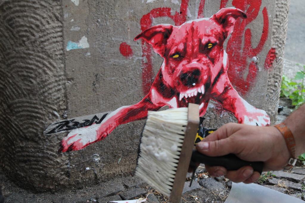 Street-Art von Künstler Zoon in Leipzig