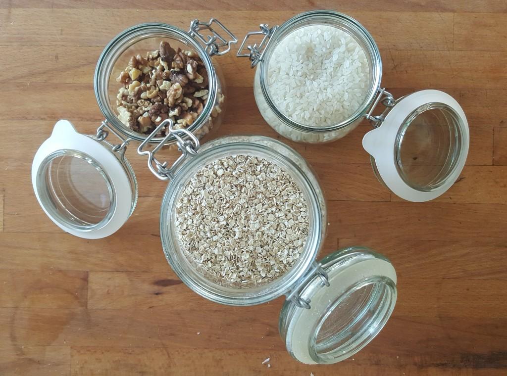 Plastikfreie Lebensmittel