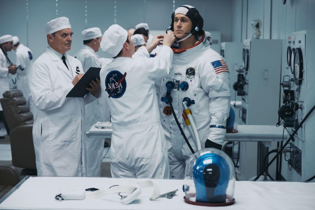 Vorbereitung auf die erste Mondlandung