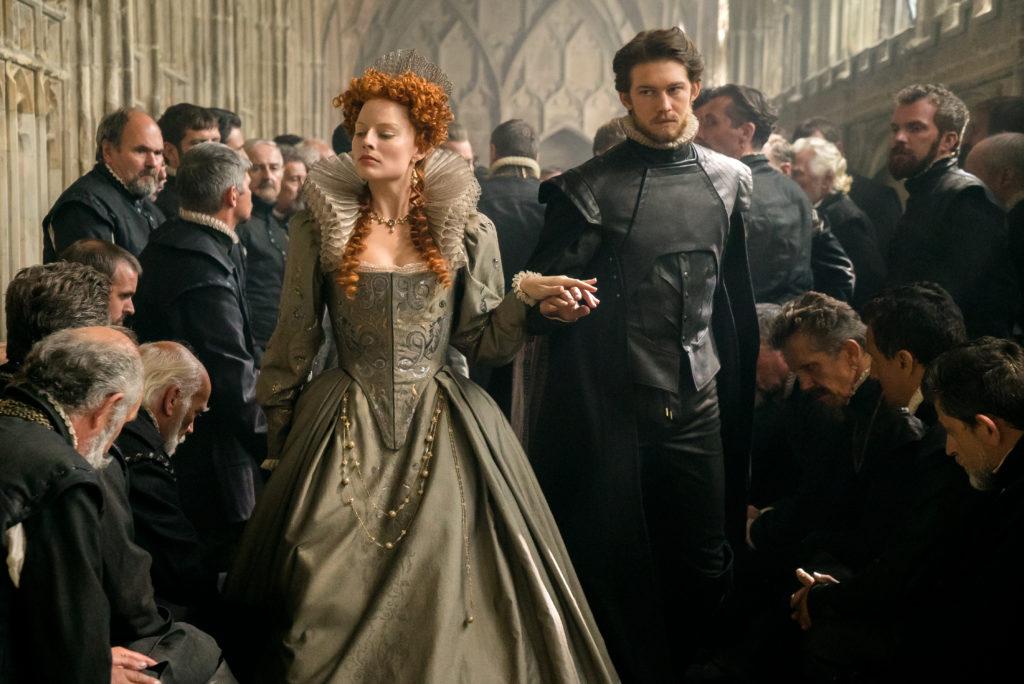 Frau unter Männern: Elisabeth (Margot Robbie) und ihr Hofadel.