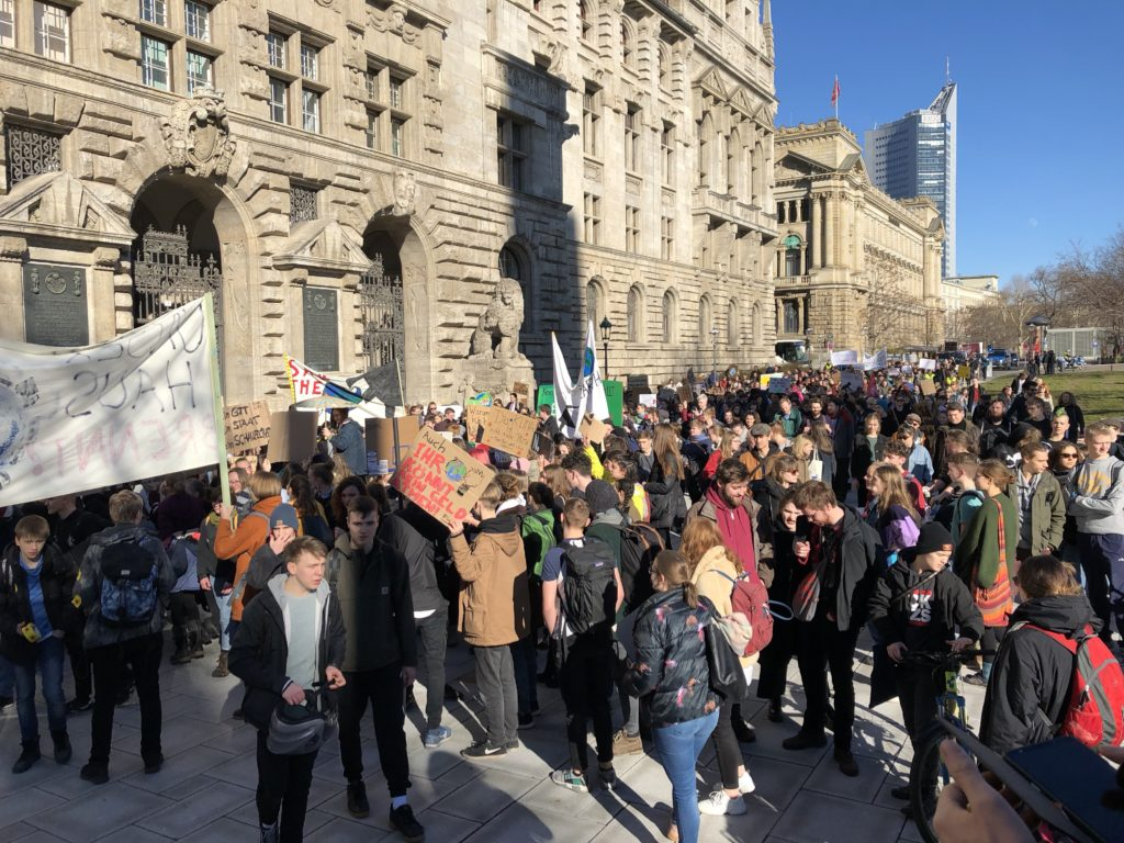 Fridays for Future in Leipzig