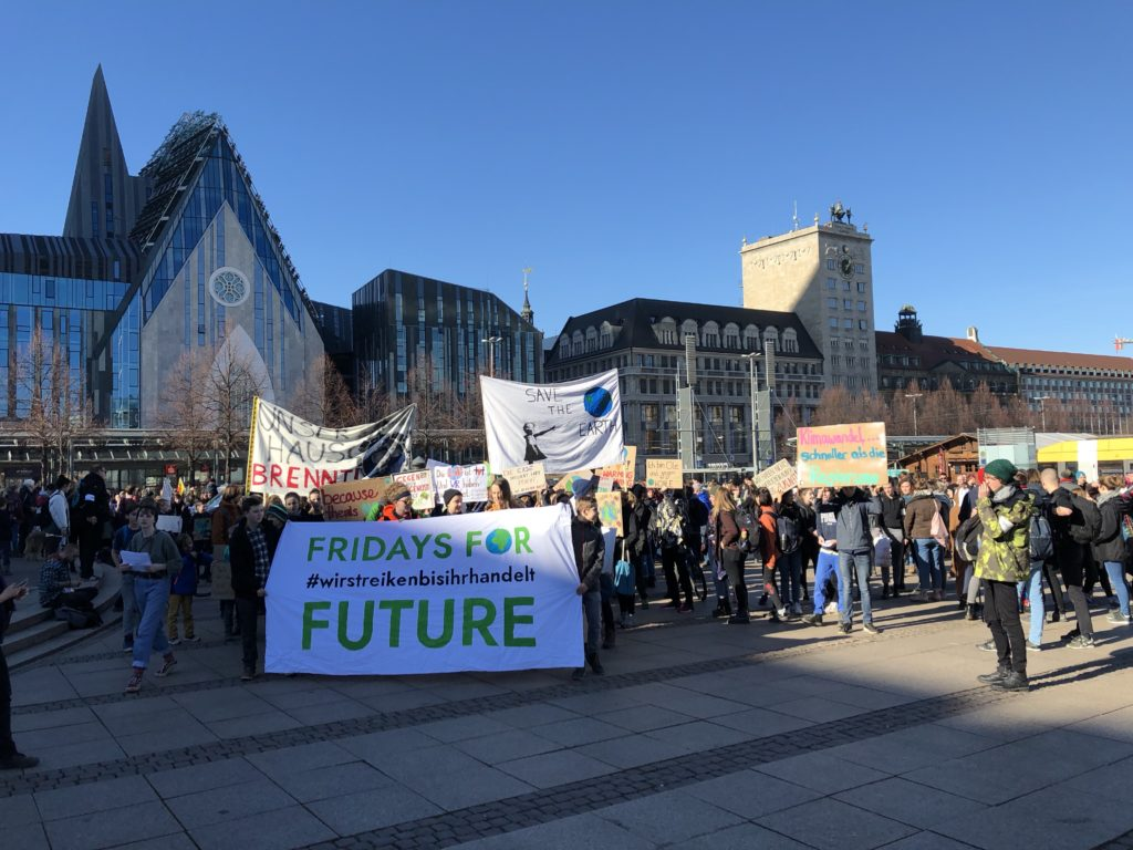 Titelbild Fridays for Future