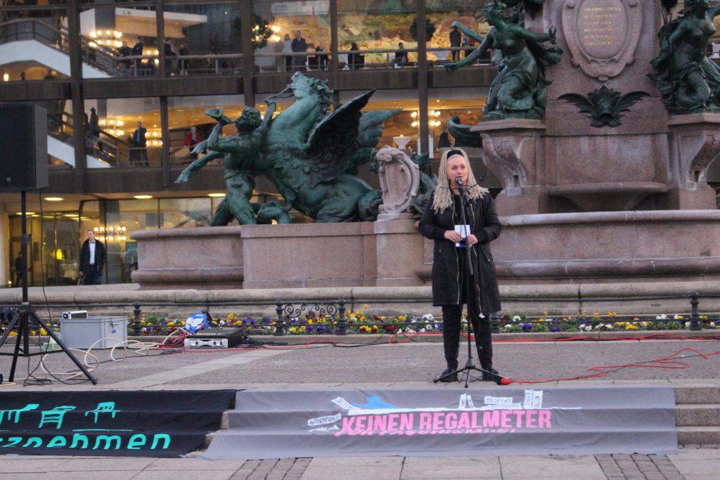 Ein Redebeitrag von Leipzig liest weltoffen