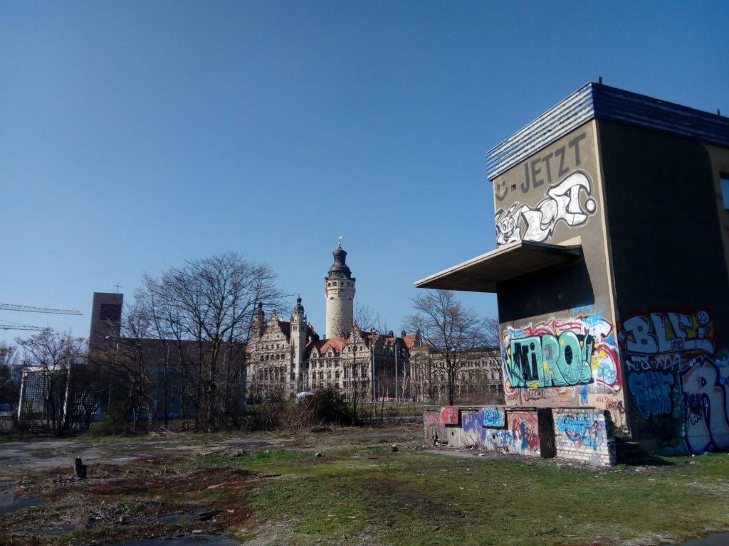 Der Wilhelm-Leuschner-Platz ist die größte Brachfläche in der Leipziger Innenstadt. Das soll sich bald ändern.