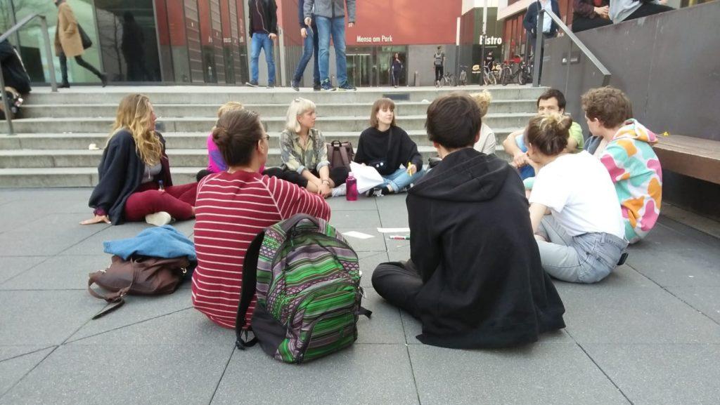 Gründung der Students for Future Bewegung in Leipzig
