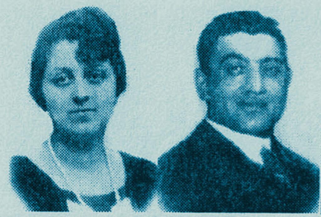 Klara und Oskar Kalter im Jahr 1938