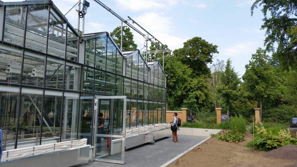 Auf über 400 Quadratmetern können die iDiv-Forscher in Zukunft im neuen Forschungsgewächshaus die Biodiversität bestimmter Ökosysteme untersuchen.