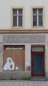Ein verlassener Laden in Görlitz