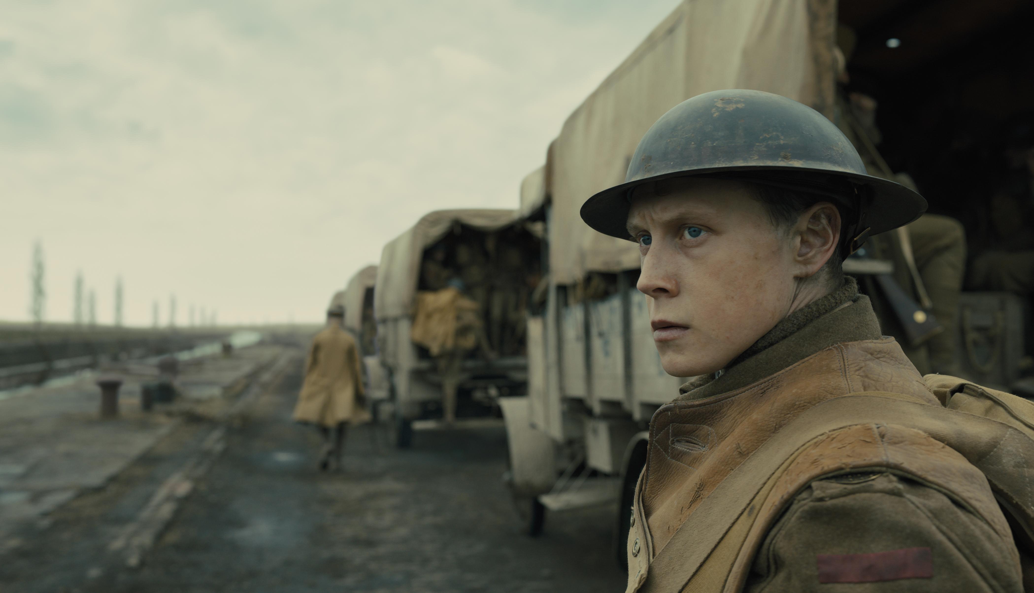 Schofield unterwegs mit britischen Soldaten