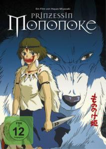 Das Cover des Films Prinzessin Mononoke