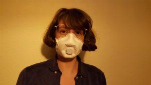 eine FFP-Maske