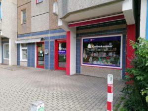 Die Kleiderkammer der Diakonie in der Nürnberger Straße
